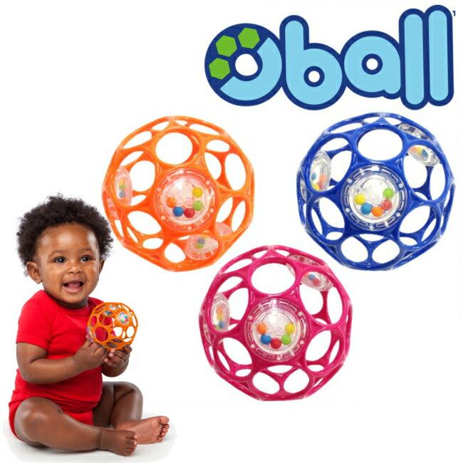 【Oball】オーボール 3カラーラトル ◆ 握って 投げて 噛んで! 赤ちゃんがつかみやすい網上ボール ビーズがかわいい音を出します 0か月〜 ラトル おもちゃ 人気 男の子 女の子 ギフト オーボール おーぼーる ブルー オレンジ ピンク ベビーカートイ トイ