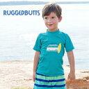 【メール便可】ブルーカリフォルニア ラッシュガード ラゲットバッツ 紫外線対策 水着 Blue California Rugged Butts …
