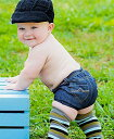 【メール便可】 Rugged Butts デニムブルマー ボトムス パンツ ダブルポケット キッズ べビー 赤ちゃん 子供 2-Pocket Denim Bloomer ★ラゲッドバッツ 男の子 ブル