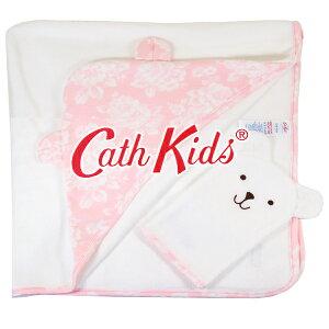 【本州送料無料】キャスキッドソン 正規品 おくるみ,ブランケット,コットン,ミット付き,2点セット,大判,Baby Hooded Towel and Wash Mit