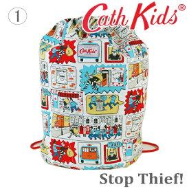 【送料無料】キャスキッドソン 正規品 巾着バック リュックサック 体操袋 Cath Kidston Barrel Drawstring Bag
