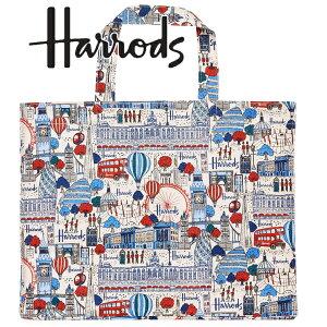 本州送料無料/Harrods,ハロッズ 正規品 トートバッグ A4,B4,ファイル ショッピング バッグ,Pretty city,Large Bucket bag,Lサイズ