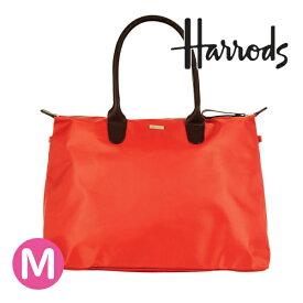 【本州送料無料】HARRODS ハロッズ 正規品 本革トリム ハンドバッグ Mサイズ,バッグ Medium Packaway Tote Bag