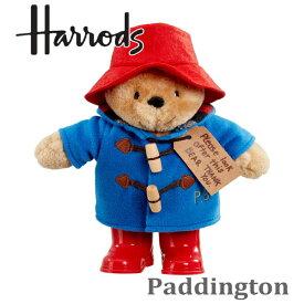 本州送料無料/HARRODS ハロッズ,パディントンベア,Paddington Bear,テディベアー,テディベア,ぬいぐるみ