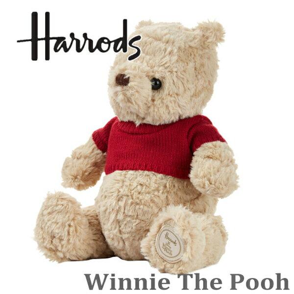 【2018新作】【本州送料無料】ハロッズ正規品,Winnie The Pooh,ぬいぐるみ,くまのプー,くまのプーさん,映画,プーと大人になった僕
