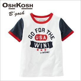 【送料無料】オシュコシュ 正規品,半袖,Tシャツ☆USA-WIN☆カーターズ外,男の子,女の子