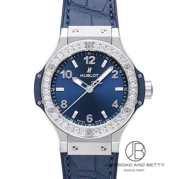 ウブロ HUBLOT ビッグバン スチール ブルーダイヤモンド 361.SX.7170.LR.1204 【新品】 時計 レディース
