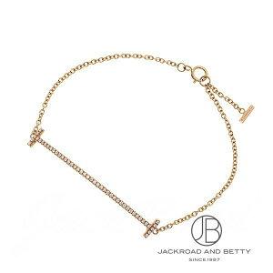 ティファニー TIFFANY&CO. Tスマイルブレスレット(スモール)ダイヤモンド K18RG 36667206 新品 ジュエリー ブランドジュエリー