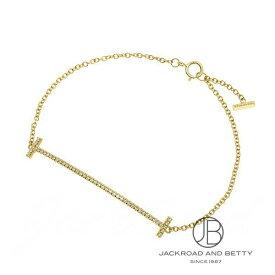 ティファニー TIFFANY&Co. Tスマイルブレスレット(ミディアム)ダイヤモンド K18YG 36667222 新品 ジュエリー ブランドジュエリー