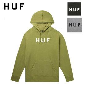 HUF ハフ パーカー プルオーバー OG LOGO PULLOVER HOODIE オリジナルロゴ メンズ トップス ロゴスウェット /HUF94