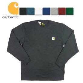 カーハート ロンティー carhartt Workwear Long-Sleeve Pocket T-Shirt K126 メンズ 長袖Tシャツ ポケT トップス メール便対応可/CHT21