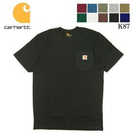 カーハート tシャツ ポケT 半袖 Tシャツ carhartt WORK POCKET T-Shirt K87 メンズ TEE トップスメール便対応可能 / CHT23