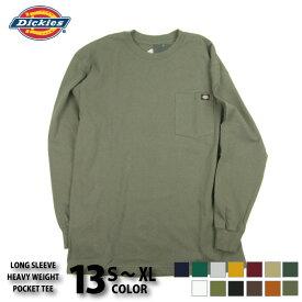 DICKIES ディッキーズ ポケット付き ロンT WL450 長袖 tシャツ メンズ メンズ トップス ワークウェア メール便対応可/DKS11