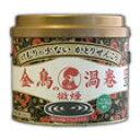 金鳥の渦巻 微煙 やさしいフローラルの香り 30巻入(缶)[金鳥の渦巻 蚊取り線香]