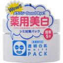 透明白肌 薬用ホワイトパック 130g[ホワイト(透明白肌) 薬用美白パック]