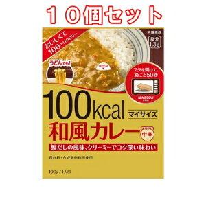 (10個セット)大塚食品 マイサイズ 和風カレー(100g)×10個