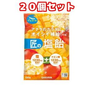 (20個セット)匠の塩飴マンゴー味(100g)×20個