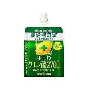 ポッカサッポロフード&ビバレッジ キレートレモン クエン酸2700ゼリー165g
