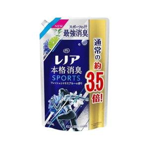 (つめかえ超特大)レノア 本格消臭 柔軟剤 スポーツ フレッシュシトラスブルーの香り 詰替 超特大(1390ml)