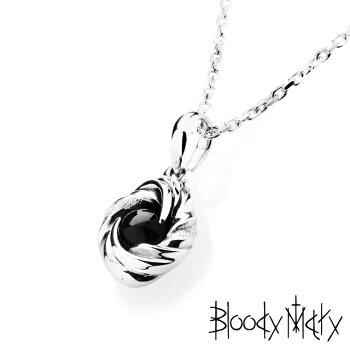 BloodyMary【ブラッディマリー】ブラックグラビティペンダントw/ブラックスターダイオプサイト