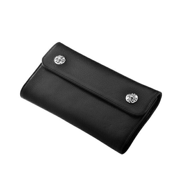 ウェイブ ウォレット レザー クロムハーツ Chrome Hearts 財布