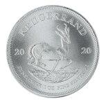 Coin【コイン】2020年製クルーガーランド銀貨25枚セット南アフリカ1オンス