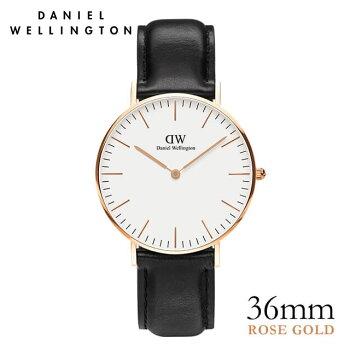 DanielWellington【ダニエルウェリントン】シェフィールド/ローズ36mm腕時計ClassicSheffield