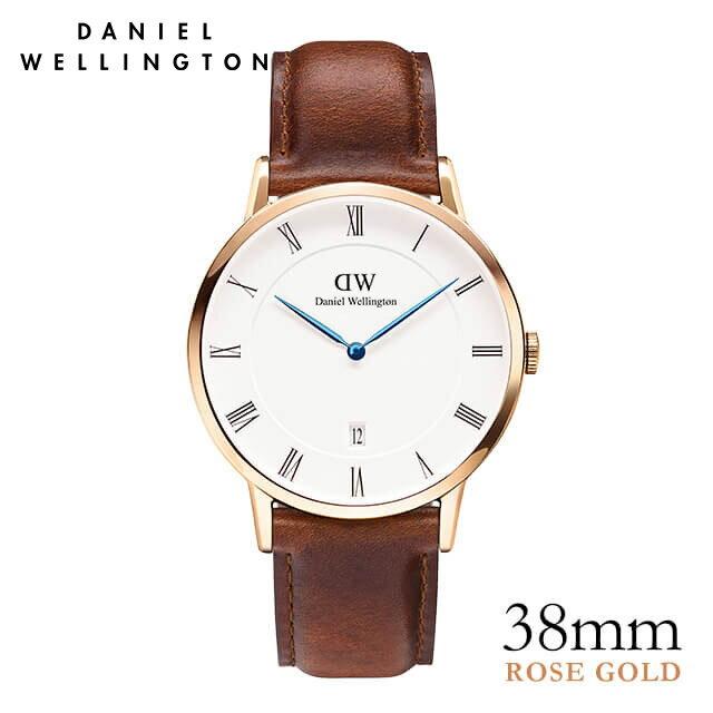 ダニエルウェリントン 38mm Daniel Wellington ダッパー セイントモーズ ローズ 腕時計 ★ポイント10倍