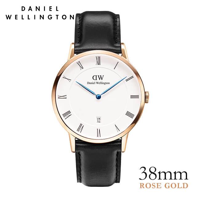 ダニエルウェリントン 38mm Daniel Wellington ダッパー シェフィールド ローズ 腕時計 ★ポイント10倍