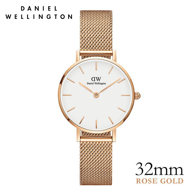 ダニエルウェリントン 32mm Daniel Wellington クラシックペティット メルローズ ローズゴールド 腕時計 ★ポイント10倍