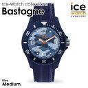 アイスウォッチ ice watch レディース メンズ Bastogne - バストーニュ ブルー (ミディアム)Da-iCE(ダイス) 花村想太さん着用