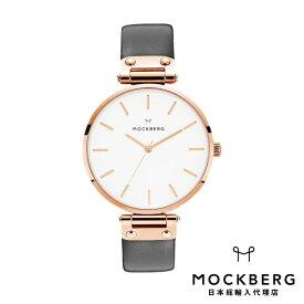 モックバーグ MOCKBERG 日本総輸入代理店公式ショップ 時計 腕時計 レディース ウォッチ Original 38 - Black, Rose Gold ギフト