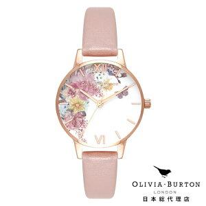 オリビアバートン レディース 時計 腕時計 Olivia Burton エンチャントガーデン ビーガンローズサンド & ローズゴールド 新作