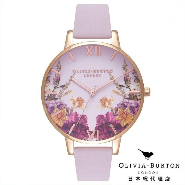 オリビアバートン 腕時計 日本正規総代理店 Olivia Burton エンチャントガーデン ブロッサム & ローズゴールド 花柄 フラワー オリビアバートン 日本正規総代理店 記念日 ギフト プレゼント 新生活 贈り物 時計
