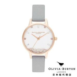 オリビアバートン レディース 時計 Olivia Burton 腕時計 ウィッシングウォッチ グレイ & ローズゴールド