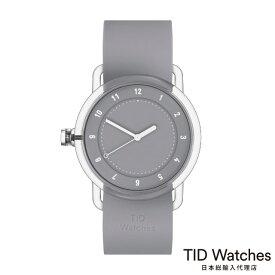 ティッドウォッチズ【TID Watches】 腕時計 メンズ レディース No.3 TR90 Grey / グレー シリコン ベルト