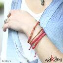 ワカミ ブレスレット 公式ストア 【Wakami】STAR 4ストランド