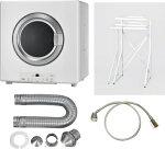 リンナイガス衣類乾燥機乾太くんRDT-80乾燥容量8kg専用置台(高)・排湿管セット・ガスコードセット