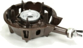 タチバナ製作所 鋳物コンロ(ハイカロリータイプ)一重小 種火無し 底枠付 TS-501 ホースエンド固定式 (業務用ガスバーナー)