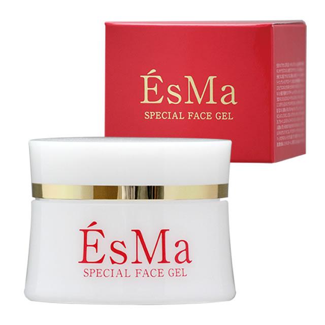 EsMa SPECIAL FACE GEL 50g(お試し価格・お1人様1個限り)プロテオグリカン、プラセンタ、フコイダンの保湿オールインワンジェル 美容液 化粧水 乳液 マリン成分たっぷりの化粧品でスキンケア
