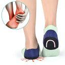 かかとサポーター, 足底筋膜炎 かかと保護カバー 中敷き かかとクッション 踵骨棘/アキレス腱炎 痛み緩和 衝撃吸収 か…
