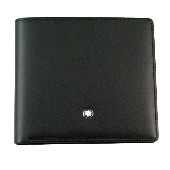 MONTBLANC モンブラン U0007163 二つ折り財布 ブラック 30655 ビルフォールド 8CC 【RCP】