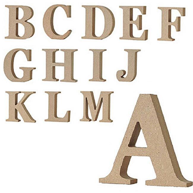 【メール便可】 ALPHABET LETTER SERIES アルファベットレター 英字(大文字) A〜M ナチュラル オブジェ 【宅配便の場合のみ、あす楽対応】【RCP】