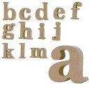 【メール便可】 ALPHABET LETTER SERIES アルファベットレター 英字(小文字) a〜m ナチュラル オブジェ 【RCP】