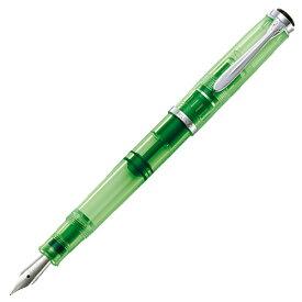【限定品】【送料無料】【あす楽対応】 Pelikan M205 DUO 万年筆インク付きセット BB(極太字) シャイニーグリーン shiny green ペリカン