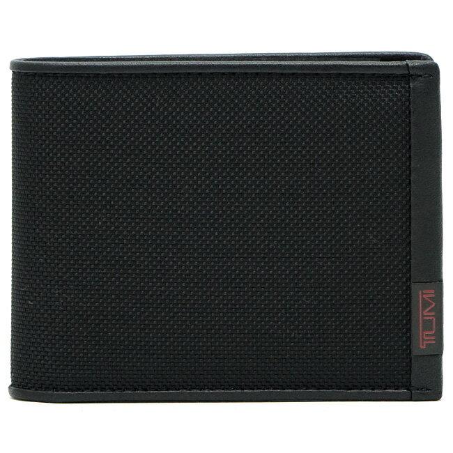 TUMI トゥミ 119230DID ALPHA SLG メンズ 二つ折り財布 ブラック グローバル・ダブル・ビルホールド 【あす楽対応】【RCP】