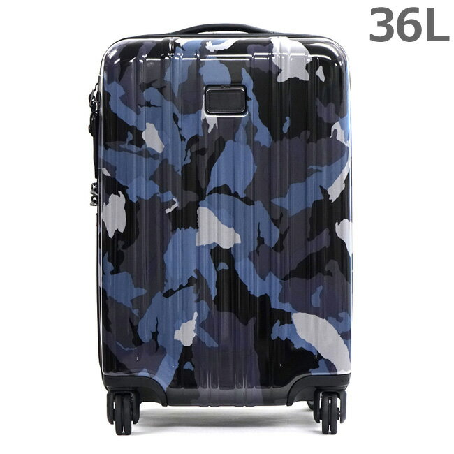 TUMI トゥミ 228060BCM ブルーカモ V3 インターナショナル・キャリーオン 36L 4輪 キャリーケース 旅行かばん スーツケース 【RCP】