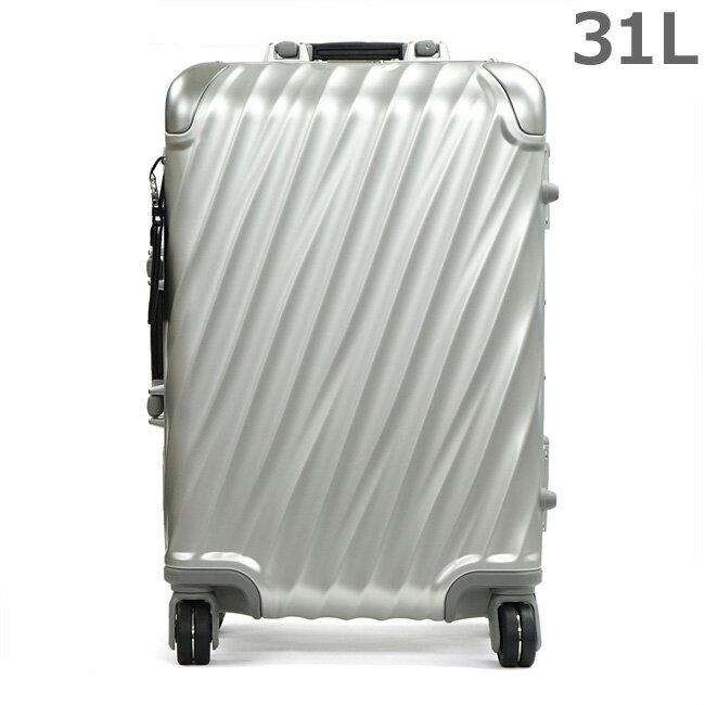 TUMI トゥミ 36860SLV2 シルバー 19 DEGREE ALUMINUM インターナショナル・キャリーオン 31L 4輪 キャリーケース 旅行かばん スーツケース 【RCP】