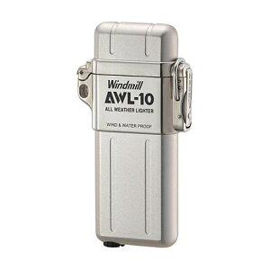 Windmill ウィンドミル 307-0001 AWL-10 アウル・テン ガス注入式ターボライター 白ベロア 【RCP】