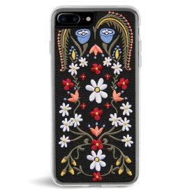 ZERO GRAVITY ゼログラビティ iPhone 7/8 Plus プラス 対応 ケース LAUREL EMBROIDERED 刺繍 クリア【正規代理店品】【メール便可】【RCP】